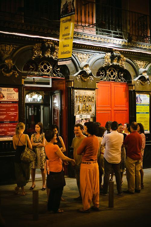 Teatro de Lara, uno de los más tradicionales de Madrid.