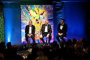 KEVIN SPACEY; SIR TIME RICE; DAVID WALLIAMS. The Ormeley dinner in aid of the Ecology Trust and the Aspinall Foundation. Ormeley Lodge. Richmond. London. 29 April 2009