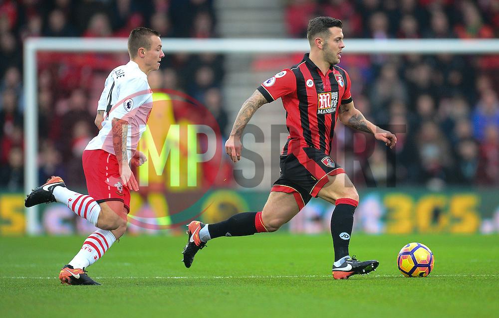 Jack Wilshere of Bournemouth - Mandatory by-line: Alex James/JMP - 18/12/2016 - FOOTBALL - Vitality Stadium - Bournemouth, England - Bournemouth v Southampton - Premier League