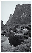 River side village, Guangxi Provence, China.