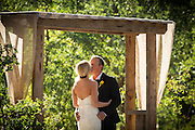 Romantic country wedding in Northern California