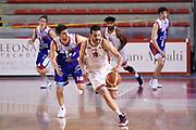 Massimo Chessa<br /> Virtus Roma - Angelico Biella<br /> Campionato Basket LNP 2017/2018<br /> Roma 18/04/2018<br /> Foto Gennaro Masi / Ciamillo - Castoria
