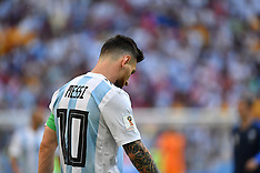 Lionel Messi Knocked Out - 30 June 2018