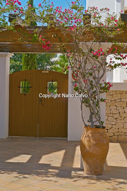 Apartments complex in San Carlos, Ibiza, Spain
