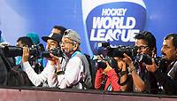 BHUBANESWAR - fotografen .  finals Hockey World League.<br /> Quarter Final Belgium v India (3-3), India wint Shoot Outs. COPYRIGHT KOEN SUYK