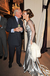 CHARLES PALMER-TOMKINSON and his daughter TARA PALMER-TOMKINSON at a party to celebrate the publication of Inheritance by Tara Palmer-Tomkinson at Asprey, 167 New Bond Street, London on 28th September 2010.