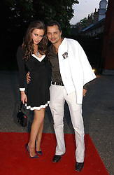 CAMILLA AL FAYED and GERRY DE VEAUX at a party to celebrate the opening of Roger Vivier in London held at The Orangery, Kensington Palace, London on 10th May 2006.<br /><br />NON EXCLUSIVE - WORLD RIGHTS