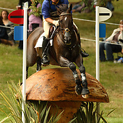 Will Faudree (USA) and Antigua at the 2007 Land Rover Burghley Horse Trials held in Stamford, England