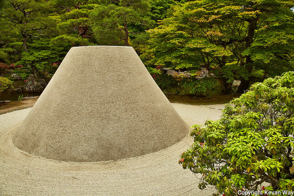 Zen gardens Kyoto Japan
