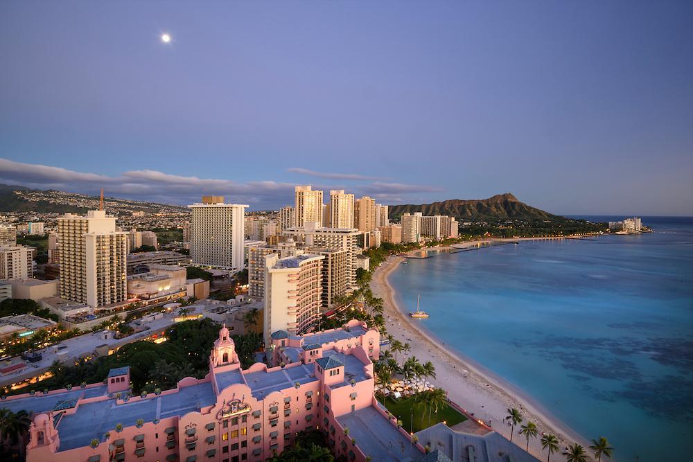 USA, Hawaii, Oahu, Honolulu, Waikiki,