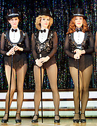 Stepping Out <br /> by Richard Harris <br /> at The Vaudeville Theatre, London, Great Britain <br /> press photocall <br /> 9th March 2017 <br /> <br /> Amanda Holden as Vera <br /> <br /> <br /> <br /> <br /> Photograph by Elliott Franks <br /> Image licensed to Elliott Franks Photography Services