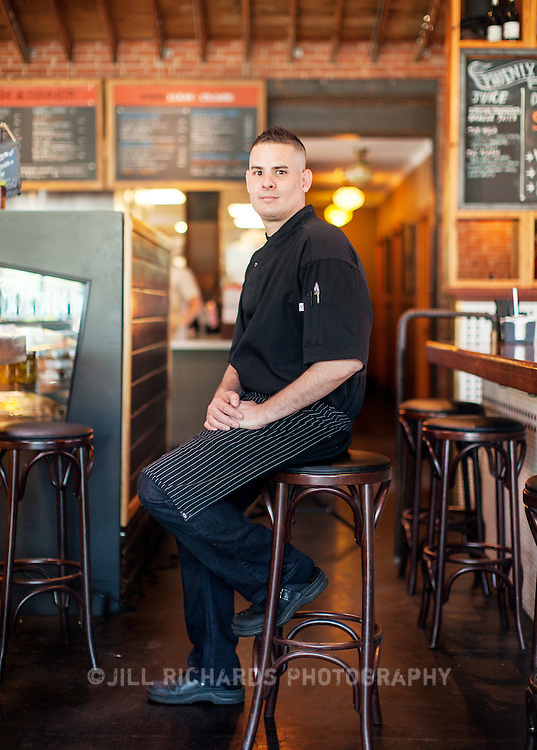 Chef Dean Armijo of Phoenix Public Market Cafe, located at 721 N Central Ave, Phoenix, AZ 85004.