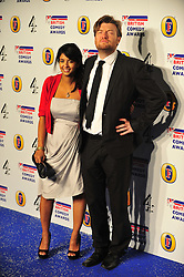 © Licensed to London News Pictures. 16/12/2011. London, England. Konnie Huq and Charlie Brooker attends the Channel 4 British Comedy Awards  in Wembley London .  Photo credit : ALAN ROXBOROUGH/LNP