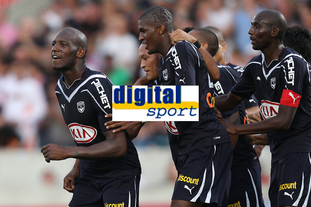 FOOTBALL - FRENCH CHAMPIONSHIP 2010/2011 - L1 - GIRONDINS BORDEAUX v FC LORIENT - 2/10/2010 - PHOTO ERIC BRETAGNON / DPPI - JOY MICHAEL CIANI