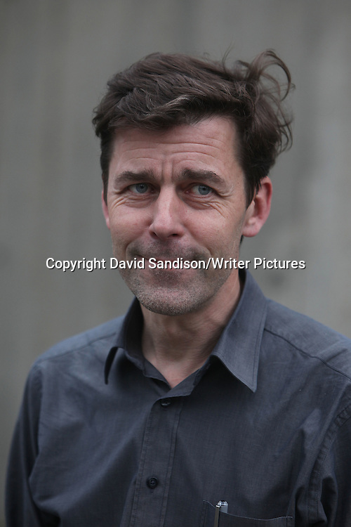 Peter Stamm, one of seven finalists for the Man Booker International Prize 2013 at the Southbank Centre, London.<br /> 20th May 2013<br /> <br /> Photograph by David Sandison/Writer Pictures<br /> <br /> WORLD RIGHTS