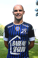 Benjamin Nivet during the photocall of Troyes Estac for season of ligue 2 on September 3rd 2016 in Troyes<br /> Photo : Philippe Le Brech / Icon Sport