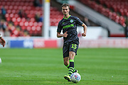 Forest Green Rovers James Morton(15) during the EFL Sky Bet League 2 match between Walsall and Forest Green Rovers at the Banks's Stadium, Walsall, England on 10 August 2019.