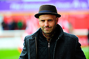 Exeter City manager Paul Tisdale during the The FA Cup match between Exeter City and Port Vale at St James' Park, Exeter, England on 6 December 2015. Photo by Graham Hunt.