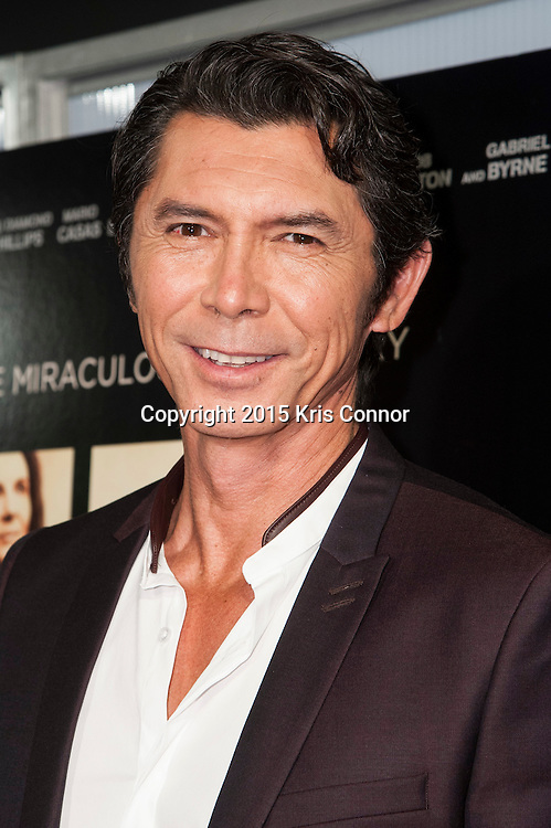 WASHINGTON, DC- OCTOBER 27: Actor Lou Diamond Phillips attends the DC premiere of Warner Bros Pictures THE 33 at the Newsuem on October 27, 2015 in Washington, DC. (Photo by Kris Connor/Warner Bros. Pictures)