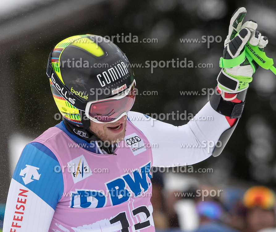03.12.2017, Beaver Creek, USA, FIS Weltcup Ski Alpin, Beaver Creek, Riesenslalom, Herren, 2. Lauf, im Bild Justin Murisier (SUI) // Justin Murisier of Switzerland reacts after his 2nd run of men's Giant Slalom of FIS ski alpine world cup in Beaver Creek, United Staates on 2017/12/03. EXPA Pictures © 2017, PhotoCredit: EXPA/ Johann Groder