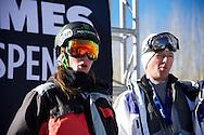 James Woods during Men's Ski Slopestyle Practice at the 2013 X Games Aspen at Buttermilk Mountain in Aspen, CO.  Brett Wilhelm/ESPN