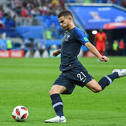 Lucas hernandez of France during the Semi Final FIFA World Cup match between France and Belgium at Krestovsky Stadium on July 10, 2018 in Saint Petersburg, Russia. (Photo by Anthony Dibon/Icon Sport)