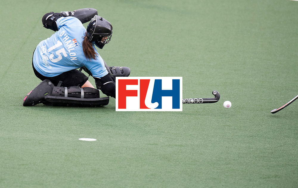 AUCKLAND - Sentinel Hockey World League final women<br /> Match id 10295<br /> 05 New Zealand  v Korea<br /> Foto: Grace O'hanlon (Gk) <br /> WORLDSPORTPICS COPYRIGHT FRANK UIJLENBROEK