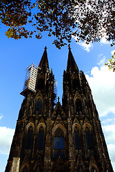 On-going maintenance continues on the Cologne Cathedral.
