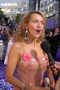 Debra Stephenson. The 2005 British Soap Awards, BBC TV Studios. London. May 7 2005. ONE TIME USE ONLY - DO NOT ARCHIVE  © Copyright Photograph by Dafydd Jones 66 Stockwell Park Rd. London SW9 0DA Tel 020 7733 0108 www.dafjones.com