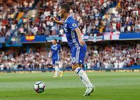 Football - 2016/2017 Premier League - Chelsea V West Ham United. <br /> <br /> Eden Hazard of Chelsea at Stamford Bridge.<br /> <br /> COLORSPORT/DANIEL BEARHAM