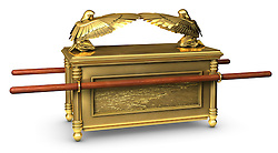 Legendary Ark of the Covenant from the Bible
