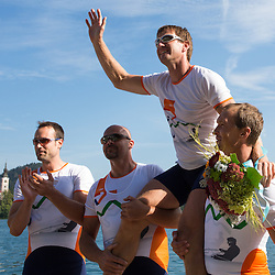 20120922: SLO, Rowing - Slovenian National Championship and farewell of Iztok Cop at lake Bled
