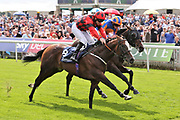 VALDERMORO (8) ridden by Tony Hamilton and trained by Richard Fahey winning The Group 3 Tattersalls Acomb Stakes over 7f (£100,000) during the Ebor Festival at York Racecourse, York, United Kingdom on 21 August 2019.
