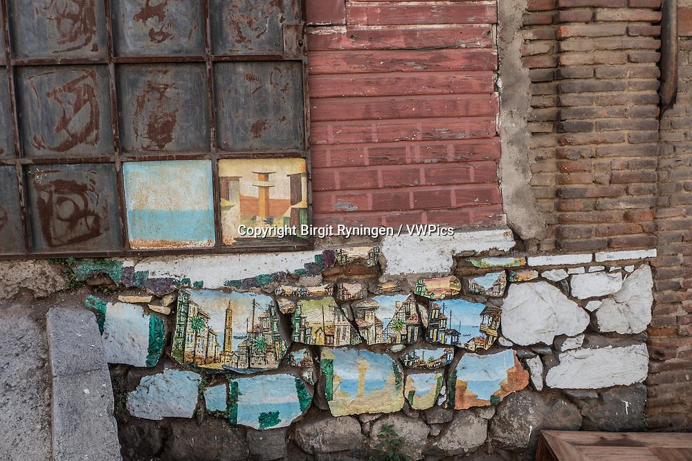 Street view, Valparaiso, Chile