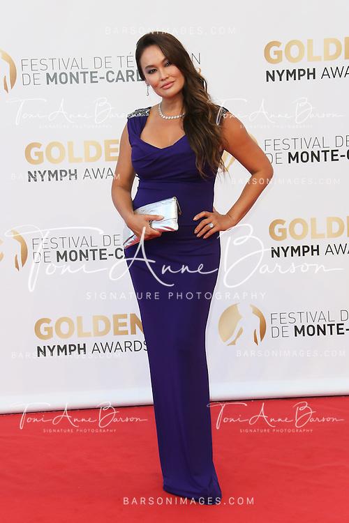 MONTE-CARLO, MONACO - JUNE 11:  Tia Carrere attends the Closing Ceremony and Golden Nymph Awards of the 54th Monte Carlo TV Festival on June 11, 2014 in Monte-Carlo, Monaco.  (Photo by Tony Barson/FilmMagic)