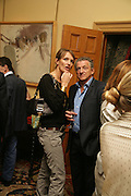 Saffron Aldridge, Party for Jean Pigozzi hosted by Ivor Braka to thank him for the loan exhibition 'Popular Painting' from Kinshasa'  at Tate Modern. Cadogan sq. London. 29 May 2007.  -DO NOT ARCHIVE-© Copyright Photograph by Dafydd Jones. 248 Clapham Rd. London SW9 0PZ. Tel 0207 820 0771. www.dafjones.com.