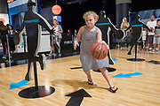 Girl improves skills during Final Four FanFest