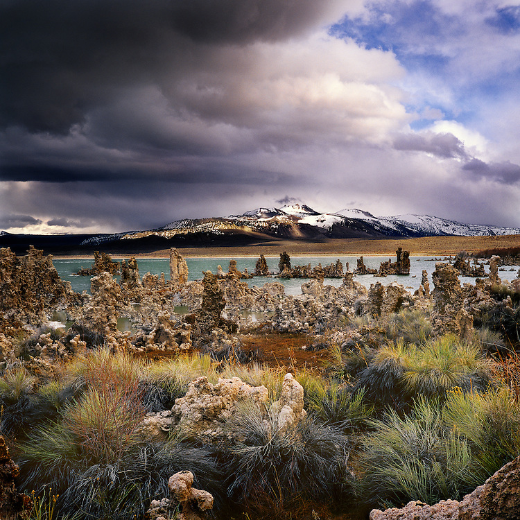 Mono Lake. The Sierras, California
