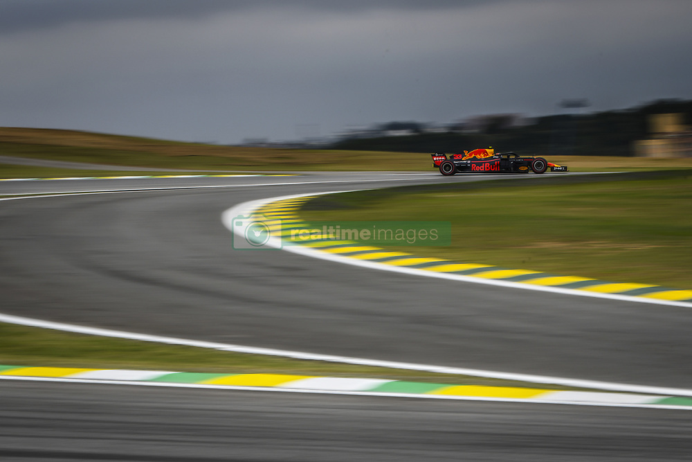 November 9, 2018 - Sao Paulo, Brazil - 33 VERSTAPPEN Max (nld), Aston Martin Red Bull Tag Heuer RB14, action during the 2018 Formula One World Championship, Brazil Grand Prix from November 08 to 11 in Sao Paulo, Brazil -  FIA Formula One World Championship 2018, Grand Prix of Brazil World Championship;2018;Grand Prix;Brazil  (Credit Image: © Hoch Zwei via ZUMA Wire)