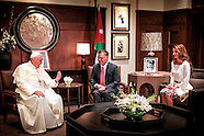 Pope Francis Meets Jordanian Royals on Jordan Pilgrimage