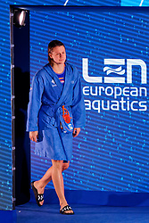 Iris Wolves #5 of Netherlands during the semi final Netherlands vs Russia on LEN European Aquatics Waterpolo January 23, 2020 in Duna Arena in Budapest, Hungary