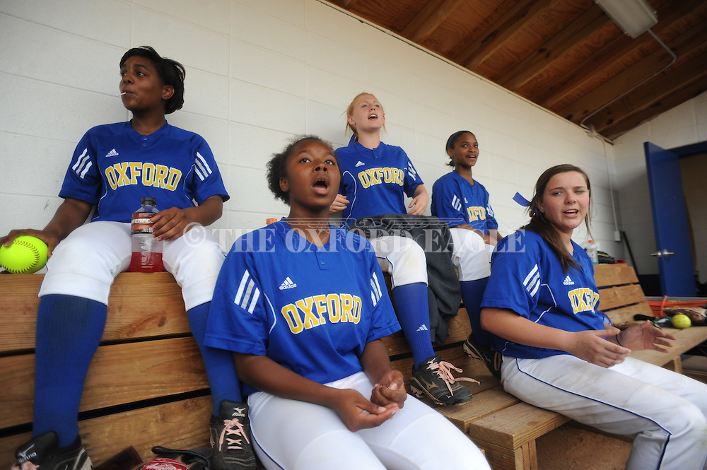 Oxford High vs. McComb in girls high school playoff action in Oxford, Miss. on Thursday, April 26, 2012.