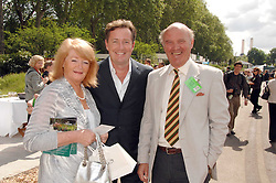 PIERS MORGAN and his parents GLYN and GABRIELLE at the 2008 Chelsea Flower Show 19th May 2008.<br /><br />NON EXCLUSIVE - WORLD RIGHTS