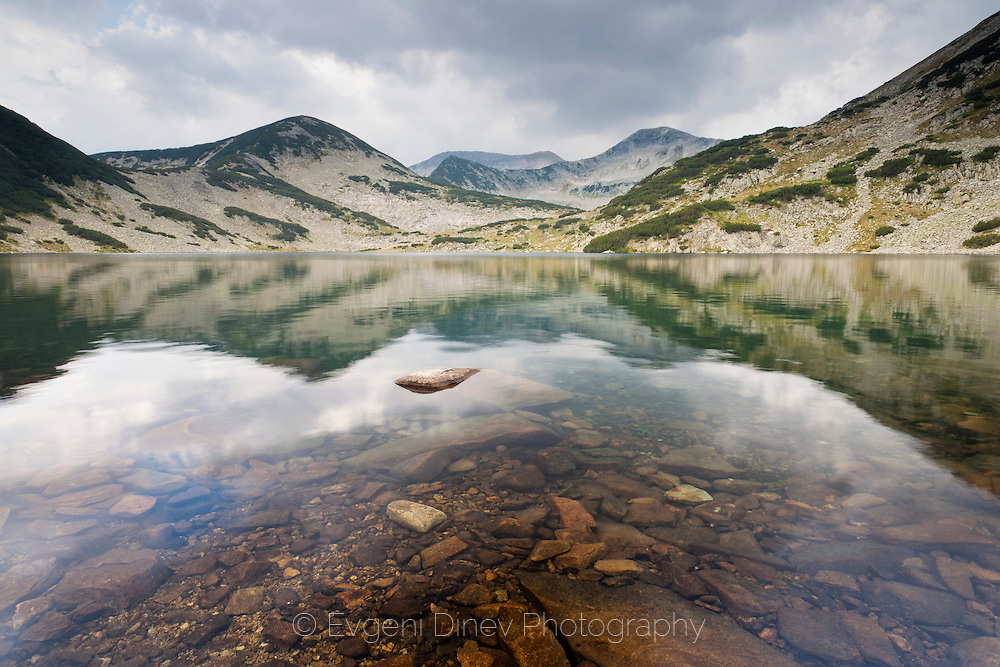 Kremenski lakes in Pirin mountain in August