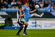 Coventry City defender Chris Stokes (3)  in action  during the EFL Sky Bet League 2 match between Coventry City and Notts County at the Ricoh Arena, Coventry, England on 12 May 2018. Picture by Simon Davies.