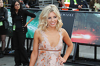 Mollie King Harry Potter and the Deathly Hallows part 2 World Premiere, Trafalgar Square, London, UK, 07 July 2011:  Contact: Rich@Piqtured.com +44(0)7941 079620 (Picture by Richard Goldschmidt)