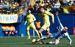 February 3, 2019 - Vila-Real, Castellon, Spain - Pablo Fornals of Villarreal and Sergi Darder of RCD Espanyol during the La Liga match between Villarreal and Espanyol at Estadio de la Ceramica on February 3, 2019 in Vila-real, Spain. (Credit Image: © AFP7 via ZUMA Wire)