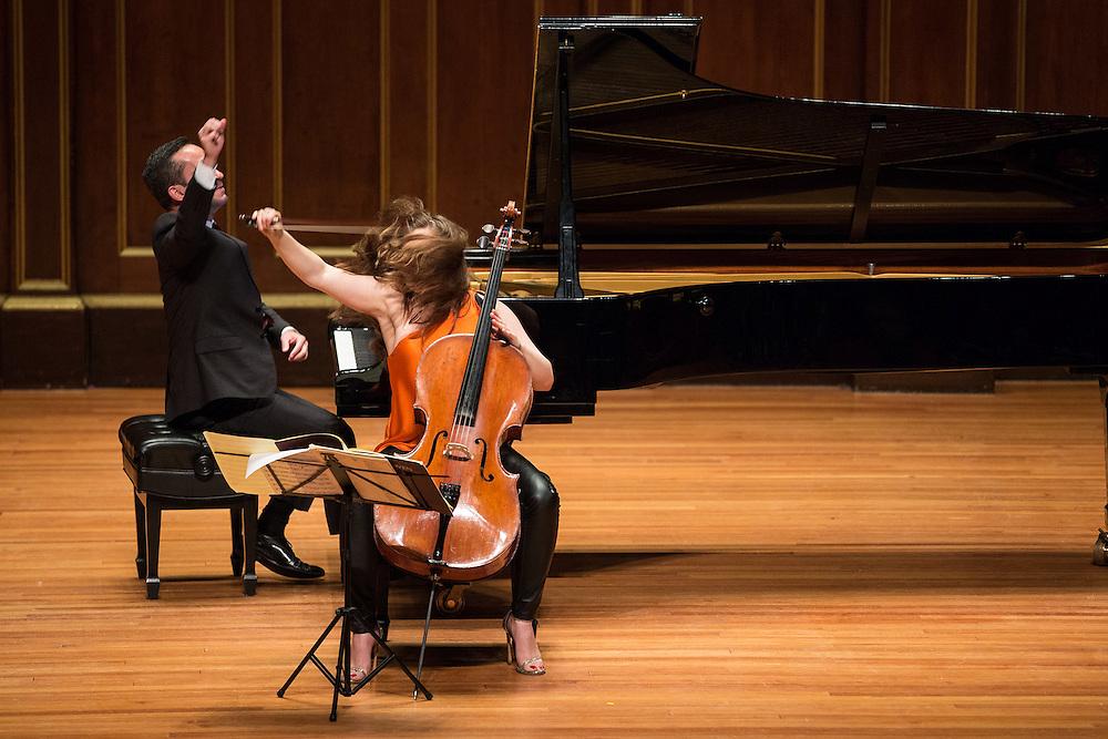 Alisa Weilerstein & Inon Barnatan in recital at Jordan Hall