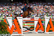 Geir Gulliksen, (NOR), Edesa S Banjan, World Champions, - Second Round Team Competition - Alltech FEI World Equestrian Games&trade; 2014 - Normandy, France.<br /> &copy; Hippo Foto Team - Leanjo De Koster<br /> 25/06/14