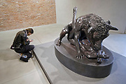 Punta della Dogana.<br /> Damien Hirst: Treasures from the Wreck of the Unbelievable.<br /> The Minotaur.